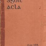 Clár 1914 agus Cláracha 1985 -2016